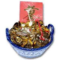Money Frog Wealth Basket