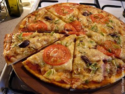 Pizza cu praz