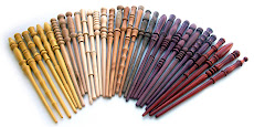 Single-Piece Solid Hardwood Wands