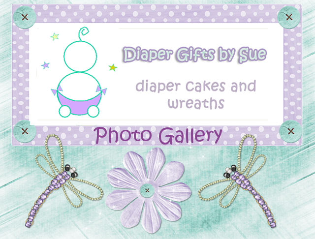 Diaper Gifts by Sue - Photo Gallary