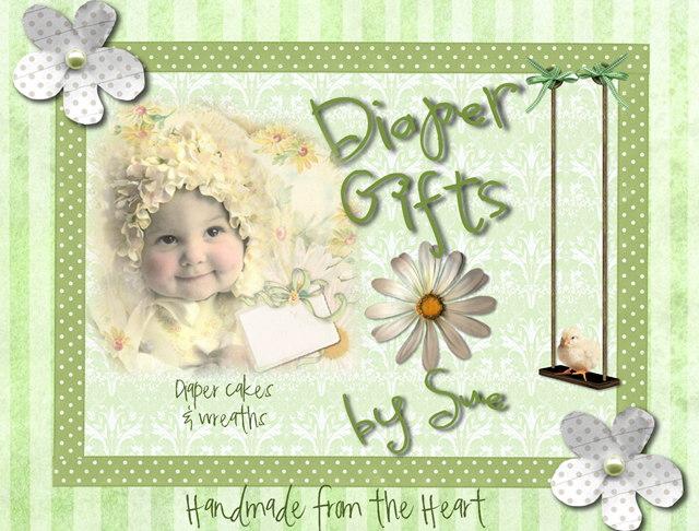 Diaper Gifts by Sue