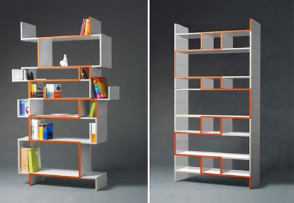 modern bookshelves a dilemma between practicality design