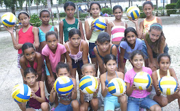 Equipo femenino de voleibol...Campen Municipal.
