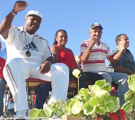 Coincidieron tres glorias deportivas; Emiliano Tamayo, Fidelina Limonta y Luis Mariano Verdecia.