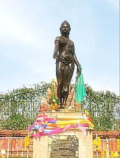Chamadevi monuments