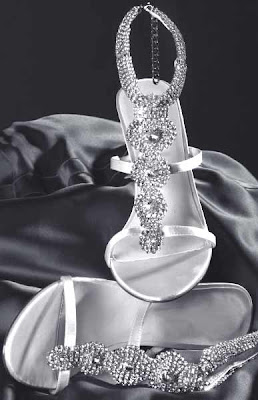 Wedding Shoes by Rhinestone Embellished.