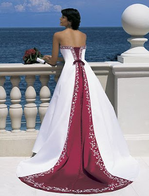 The Wedding Gown and Other Colors.