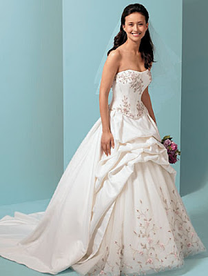 The Wedding Gown with Silk