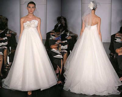 The Wedding Gown is simple.