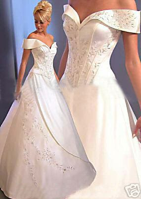 Wedding Gown Elegant, Luxurious