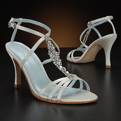 White Wedding Shoes by Grazia Alicia