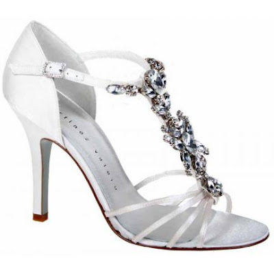 Bridal Shoes for the wedding of decoration.