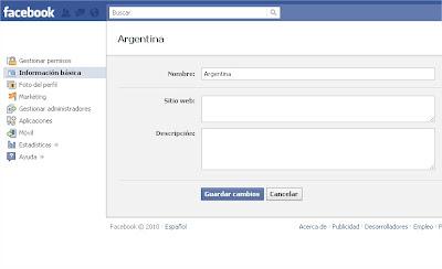 Cambia el Nombre de Tu Pagina de Facebook