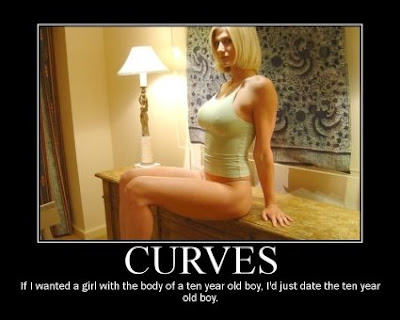 (Un)motivational posters: A woman needs to have some curves