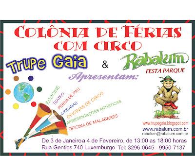 Colnia de frias com circo participe trupe gaia colnia de frias com circo participe fandeluxe Images