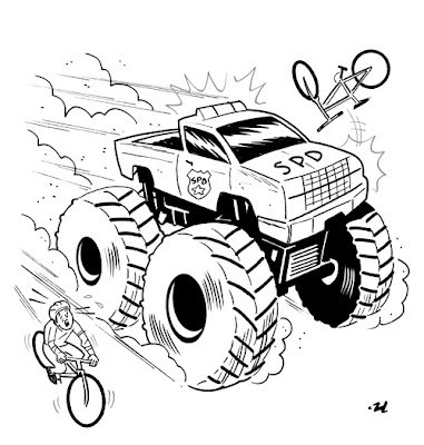 Grave Digger Coloring Pages