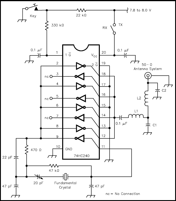 is it possible to create a qrp transmitter using little