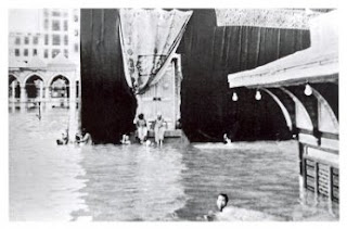 Bangunan Ka`bah Banjir
