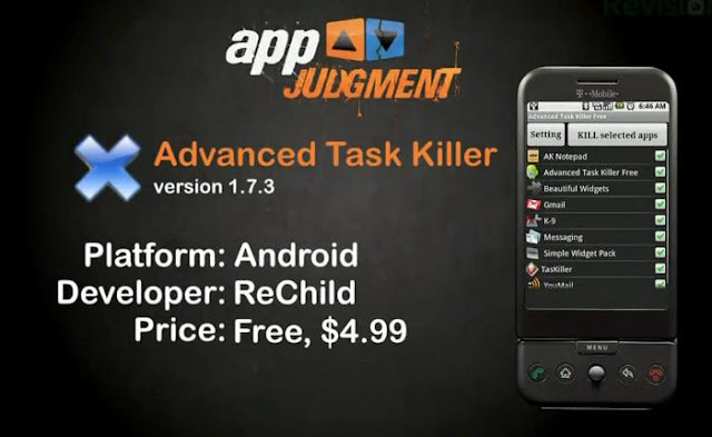 3 Android OS Task Killers - AppJudgment [HD VIDEO]