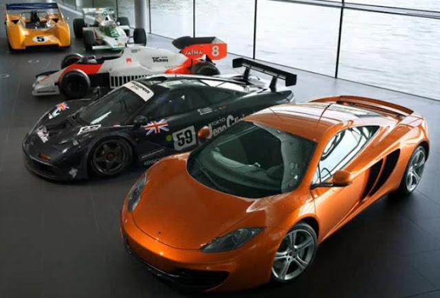 McLaren MP412C Lineup
