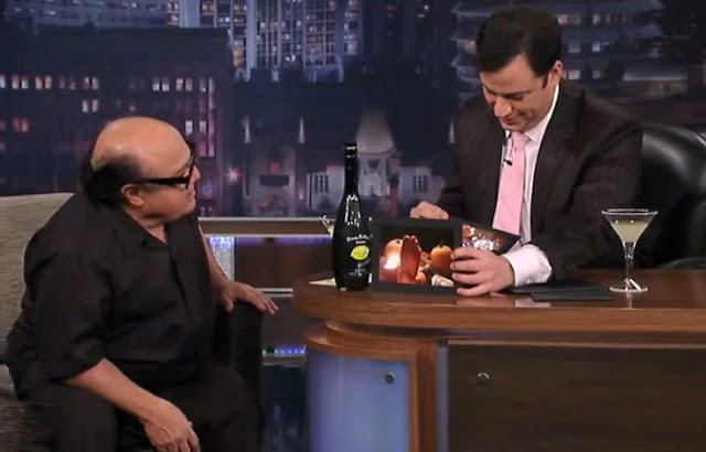 Danny DeVito Loves To Tweet His Feet Jimmy Kimmel Live