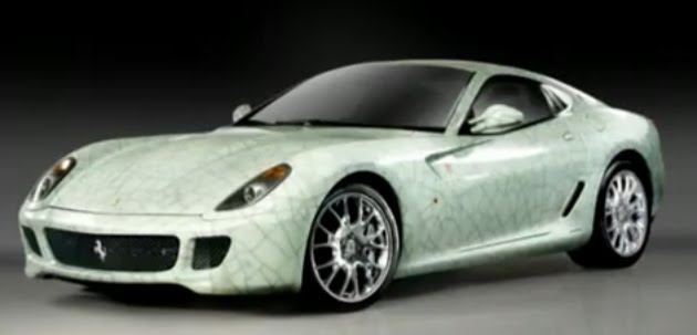 Chinese Inspired Version of Ferrari 599-One & Only!