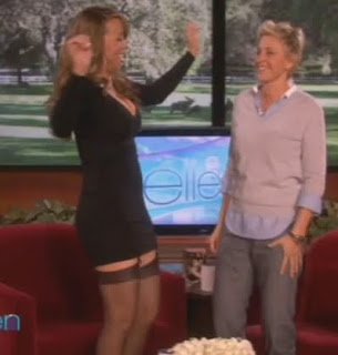 Mariah Carey's Sexy Interview On Ellen Degeneres Show 2