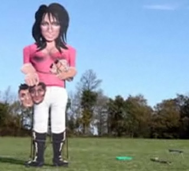 20 Foot Tall Effigy of Katie Price To Flame Down!