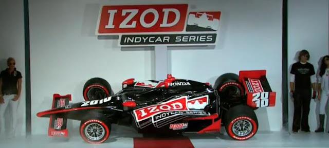 IZOD  Entitles 2010 IndyCar Series & Media Event