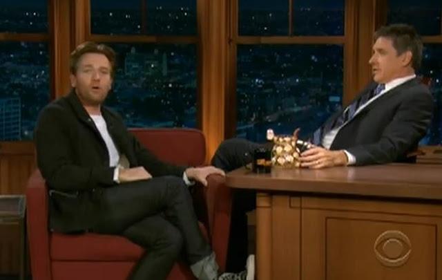 Ewan McGregor Chats Goats On Late Late Show W/ Craig Ferguson