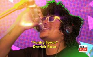 Bulls Totally 80s Derrick Rose Funky Town Spoof