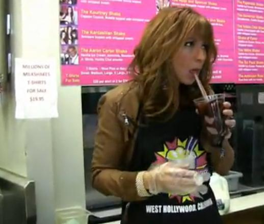 Jill Zarin Makes Her Shake At Millions of Milkshakes