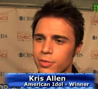 Kris Allen Talks About His New Album No Boundaires At People Choice Awards