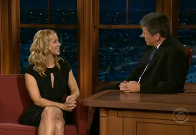Maria Bello On Late Late Show With Craig Ferguson