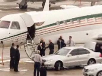 Modanna Travels In Private Jumbo Jet To Rio De Janeiro