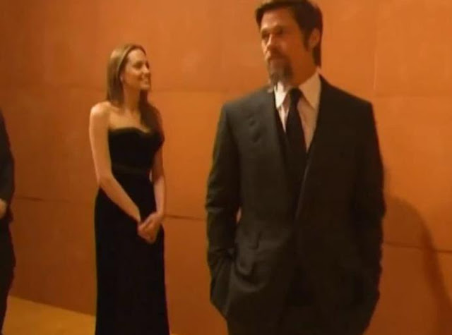 Brad Pitt And Angelina Jolie Tour MOCA In LA
