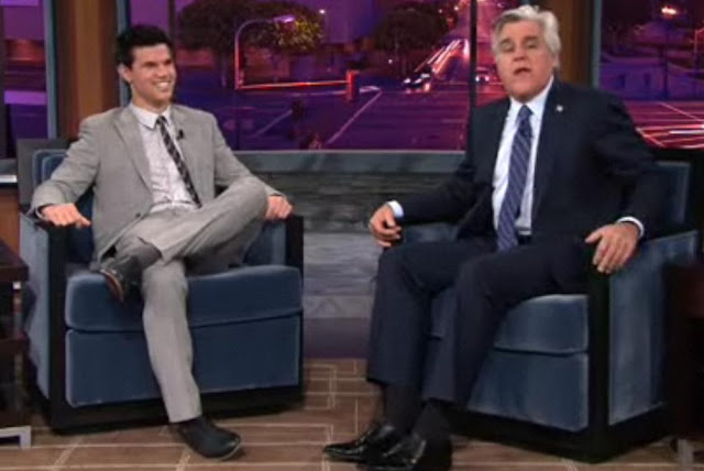 Taylor Lautner Interview On Jay Leno Show