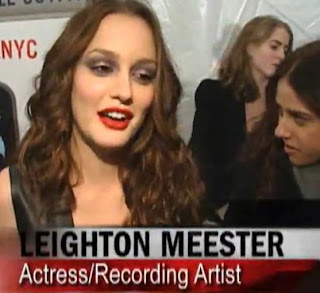 Gossip Girl Actress Leighton Meester At Grand Opening American Eagle Outfitter Store NYC