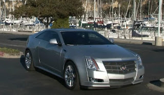 2011 Cadillac CTS Coupe-2009 LA Auto Show
