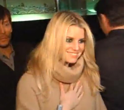 Jessica Simpson Out With Hairwhiz Ken Paves