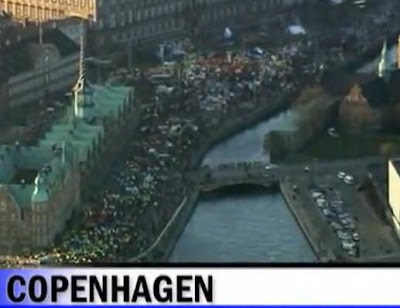 Mass Pretest In Copenhagen Demanding Stronger Fight On Climate Change