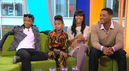 will smith and family 2009. makeup will smith family 2009.