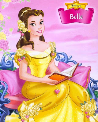 Princess Belle Cartoon Disney