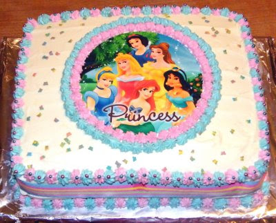 Disney Princess Birthday Cake Photo