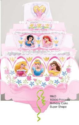 Disney Princess Birthday Cake Clip Art - fedinvestonline