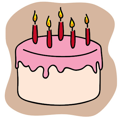 Powerpoint Birthday Cake Clipart
