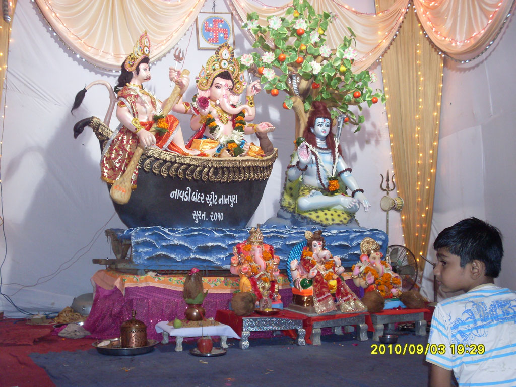 Ganesh Chaturthi 2010, Photos, Wallpaper, Pictuire, Images, Snap Surat ...