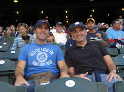 Brad and I at the Mariner's game