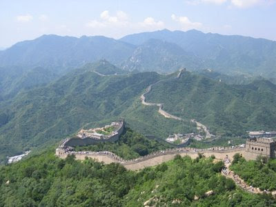 A beautiful photo of The Great Wall of China.