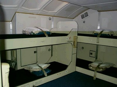 Boeing 747-400 bed